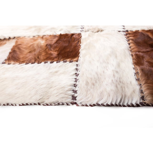 """Aydin Cowhide Patchwork Accent Area Rug - 6'0"""" x 6'7"""" - Image 8 of 9"""