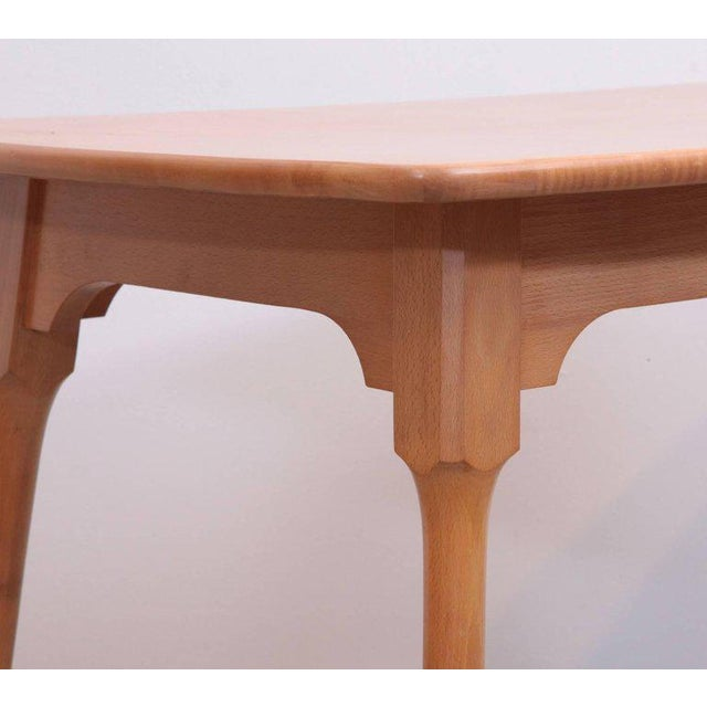 Brown Arno Lambrecht Dining Set of Table, Three Chairs and a Bench for WK Mobel For Sale - Image 8 of 11