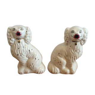 Staffordshire Ceramic Dogs - A Pair