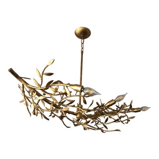 Mandeville Linear Chandelier by Julie Neill for Visual Comfort For Sale