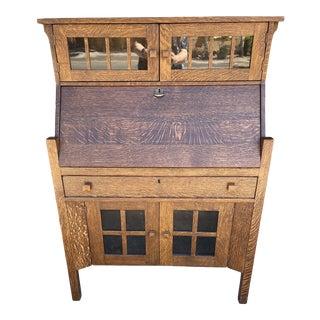 Arts & Crafts Desk Circa 1910 For Sale