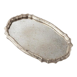 Gemma Mirrored Tray For Sale