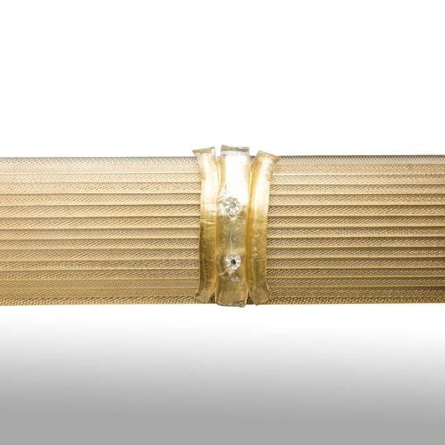 Contemporary Gold Venetian Rigatello Mirror For Sale - Image 3 of 5