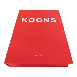 Jeff Koons Limited Edition Book For Sale