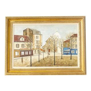 Oil on Canvas, Louis Peyrat For Sale