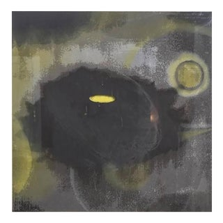 American Abstract Silkscreen on Paper, Ross Bleckner For Sale
