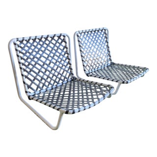 Brown Jordan Tamiami Sand Chairs- 2 Piece For Sale