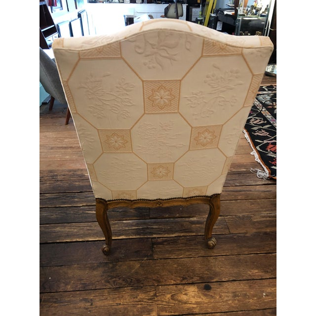 Wood Baker French Style Arm Chair For Sale - Image 7 of 11