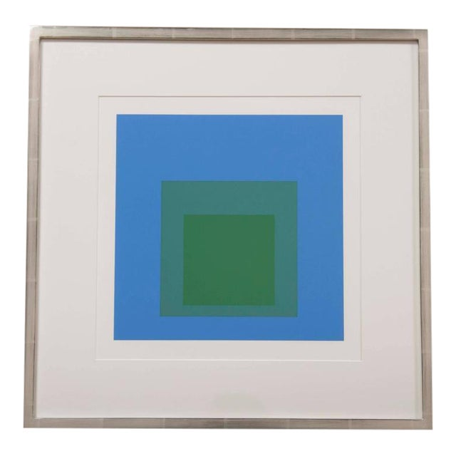 """Josef Albers """"Homage to the Square"""" Print For Sale"""