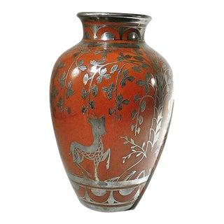 Antique Art Nouveau Vase by Richard Ginori For Sale