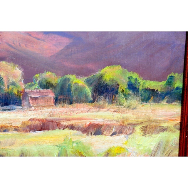 """Paul Lauritz """"Zion National Park"""" Oil Painting - Image 7 of 11"""