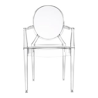 Kartell Louis Ghost Crystal Chair For Sale