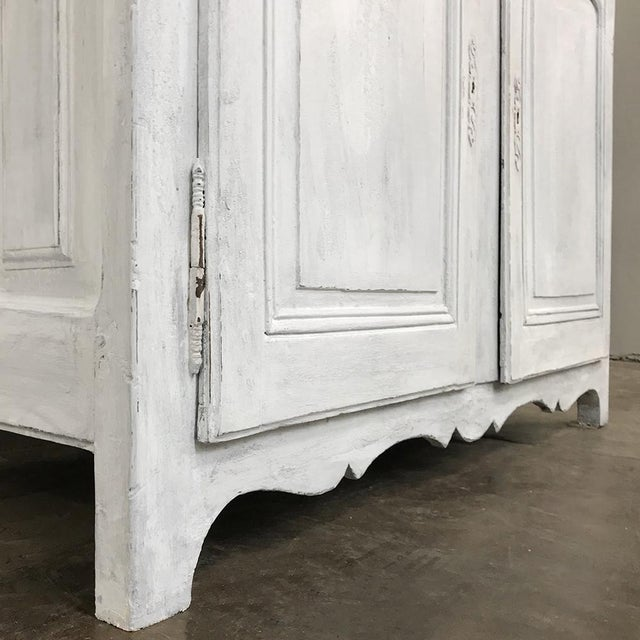 18th Century Country French Provincial Painted Buffet For Sale - Image 9 of 13