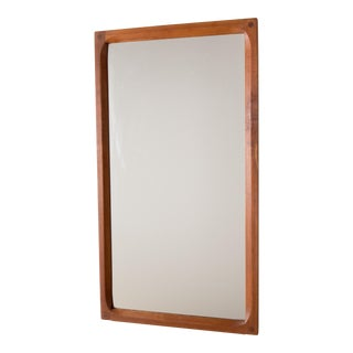 Aksel Kjersgaard Mirror in Teak by Odder in Denmark For Sale