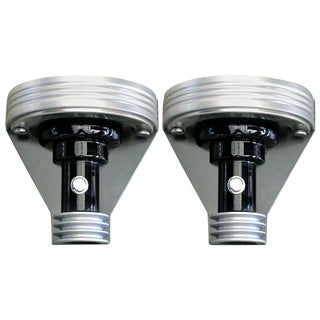 Pair of Art Deco Styled Machine Age Wall Sconce For Sale