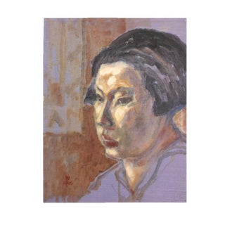 Abstract Portrait of a Woman Painting