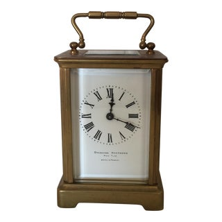 Ovington Brothers French Carriage Clock