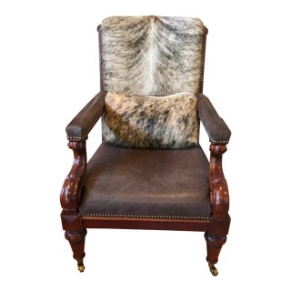 Vintage Ralph Lauren Library Chair For Sale