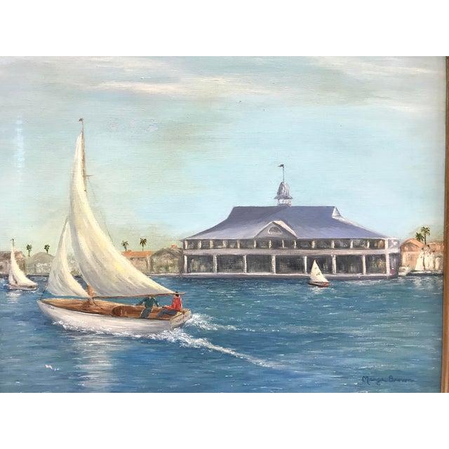 Balboa Pavillion Newport Beach Painting - Image 3 of 9