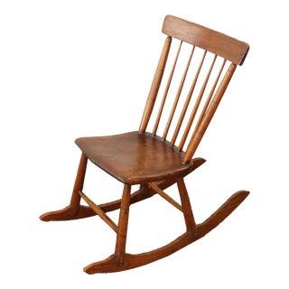 Antique Children's Rocking Chair
