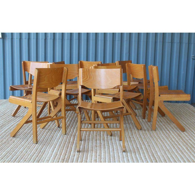 Dining Chairs by Joamin Baumann, France, 1960s For Sale In Los Angeles - Image 6 of 13