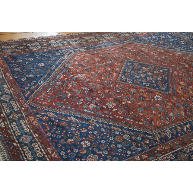 "Vintage Shiraz Carpet - 7'3"" X 9'5"" - Image 4 of 10"