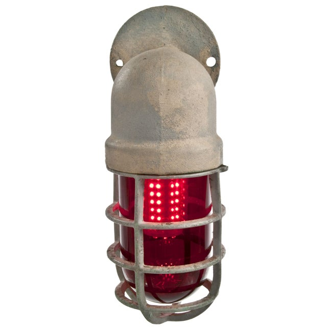Crouse-Hinds Explosion Proof Factory Sconce - Red - Image 4 of 4