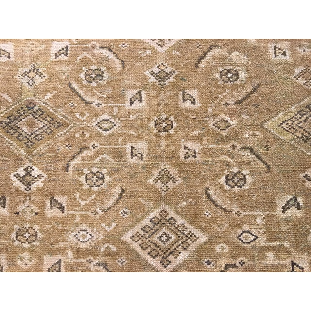 Antique Persian Malayer Runner Rug - 6′7″ × 9′10″ - Image 5 of 9