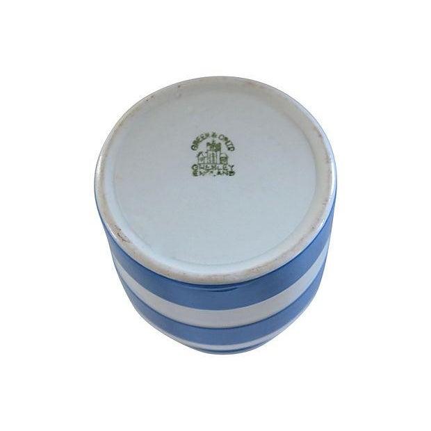 Vintage English Cornishware Currants Jar - Image 3 of 3