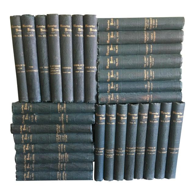 1900 Waverly Novels - Set of 30 For Sale