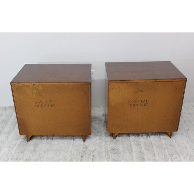 Mid Century Modern end tables/nightstands - a Pair - Image 10 of 11
