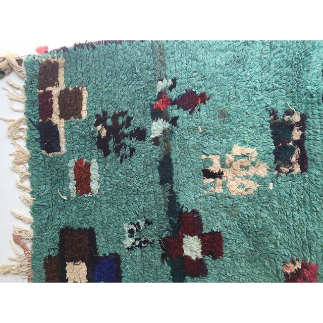Vintage Moroccan Rug - 4′1″ × 4′2″ - Image 6 of 6