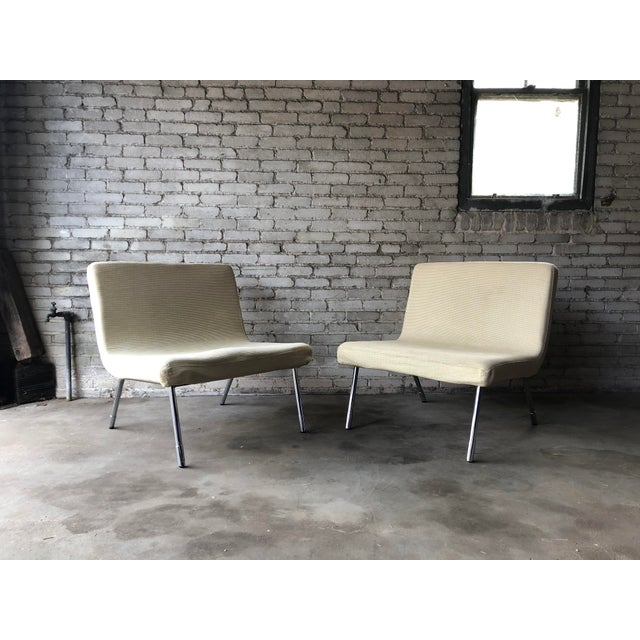 1990s 1990s Roche Bobois Chrome Lounge Chairs - a Pair For Sale - Image 5 of 13