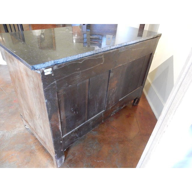 Early 19th C Walnut French Empire Commode For Sale - Image 10 of 12