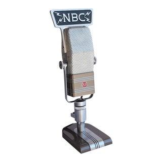 1950s Original RCA Microphone