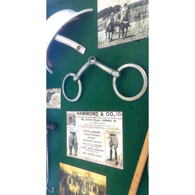 English Vintage Polo Memorabilia Shadow Box For Sale - Image 3 of 10