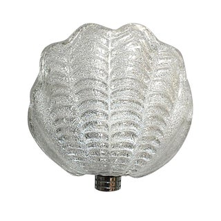 Mazzega Petite Shell Sconce For Sale