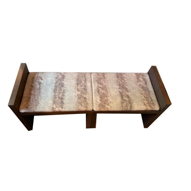 Admirable Kara Mann For Milling Road Together Benches A Pair Ibusinesslaw Wood Chair Design Ideas Ibusinesslaworg