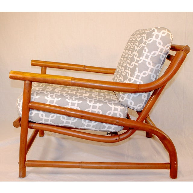 Ritts Tropitan Bamboo Lounge Chair - Image 3 of 6