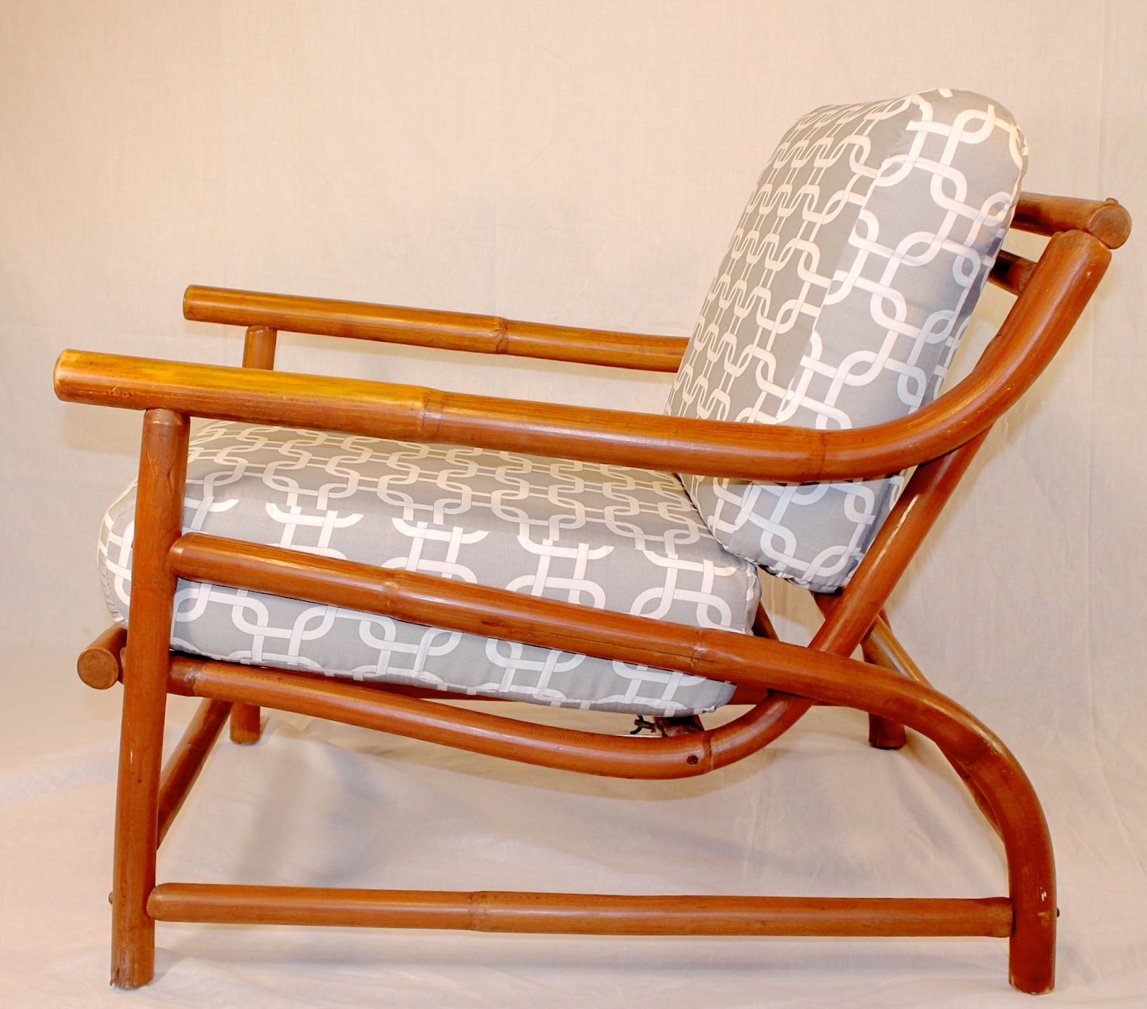 Ritts Tropitan Bamboo Lounge Chair   Image 3 Of 6