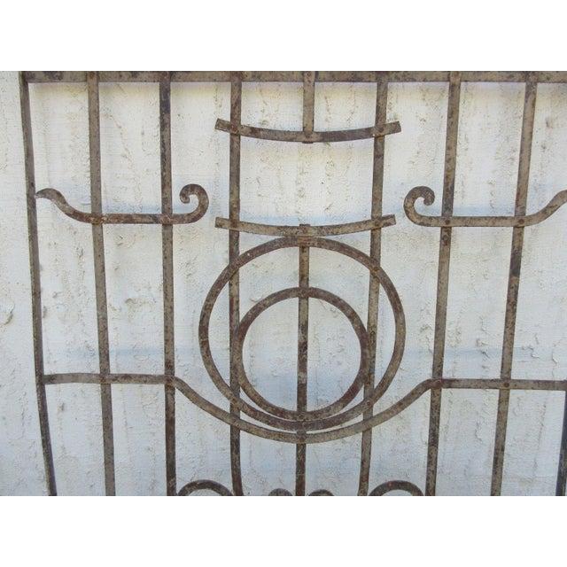 Antique Victorian Iron Gate Door For Sale - Image 5 of 7