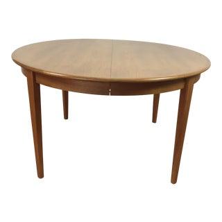 Mid-Century Modern Teak Dining Table For Sale