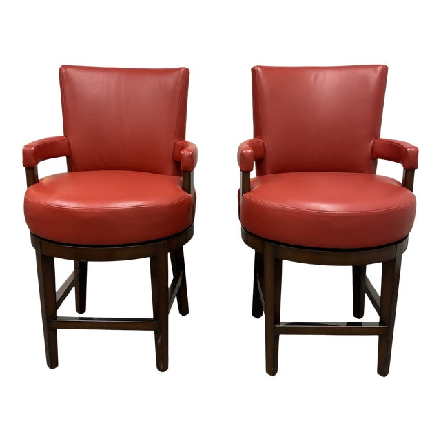Wheeler Design Group Counter Stools - a Pair For Sale