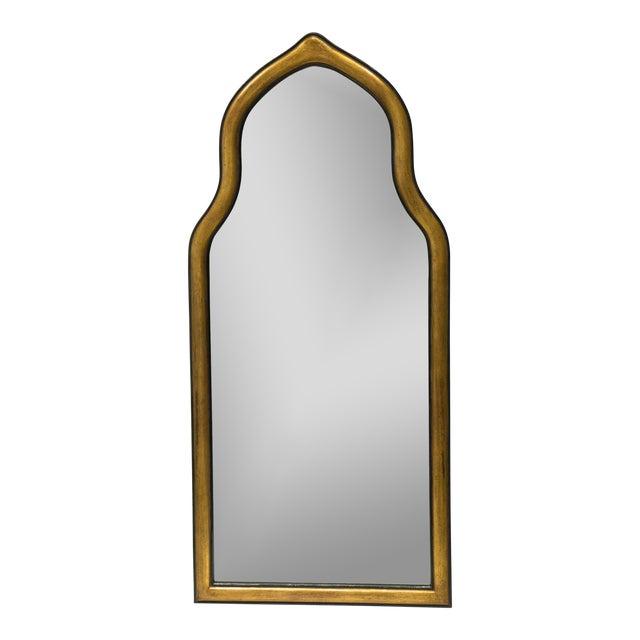 Gilt Gesso Arched Pier Mirror For Sale