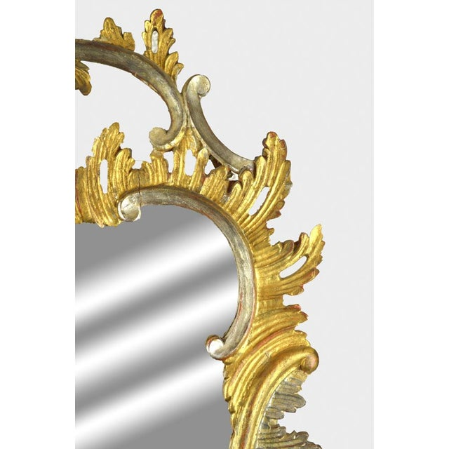 Carved Rococo Vintage Mirror - Gold & Silver Gilt - Image 7 of 7