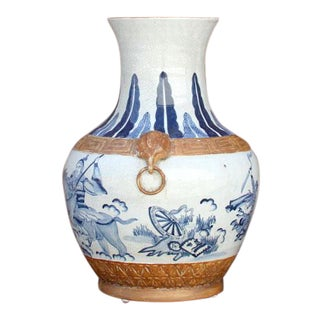 Grand Antique Chinese Vase For Sale