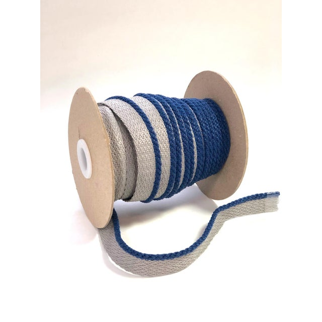 """One, 22 yard spool of 1/8"""" Indoor/Outdoor cable cord trim with flange. Flange is 1/2"""" wide for sewing. Total height: 5/8""""..."""