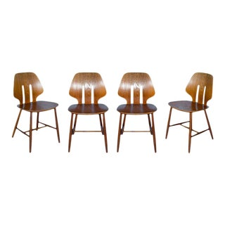 Set of 4 Ejvind A. Johansson Chairs For Sale