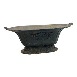 French Iron Garden Planter Jardiniere For Sale