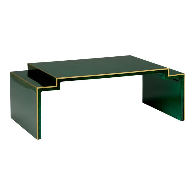 Chatsworth Table in Green For Sale